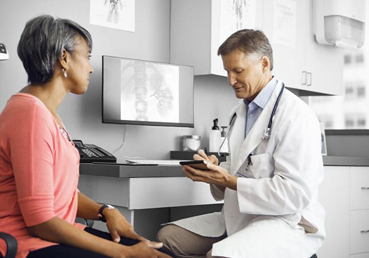 Epilepsy Patient Receiving Prescription